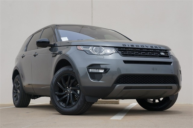 Land Rover Frisco >> New 2019 Land Rover Discovery Sport Se 4 Door In Frisco F19438