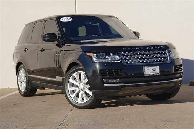 Certified Pre Owned 2017 Land Rover Range 3 0l V6 Supercharged Hse 4 Door Suv In Frisco Fr9649