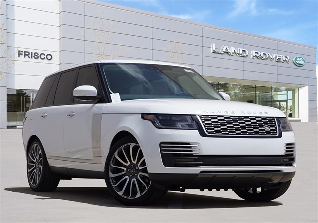 Range Rover Autobiography >> New 2019 Land Rover Range Rover 5 0l V8 Supercharged Autobiography