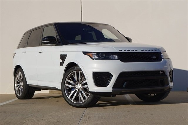 Certified Pre Owned 2017 Land Rover Range Sport 5 0l V8 Supercharged Svr 4 Door In Frisco F19172a