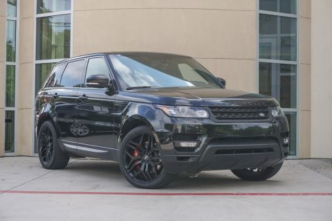 Certified Pre-Owned 2015 Land Rover Range Rover Sport 5.0L V8 Supercharged