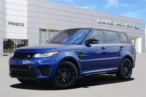 Certified Pre-Owned 2017 Land Rover Range Rover Sport 5.0L V8 Supercharged SVR