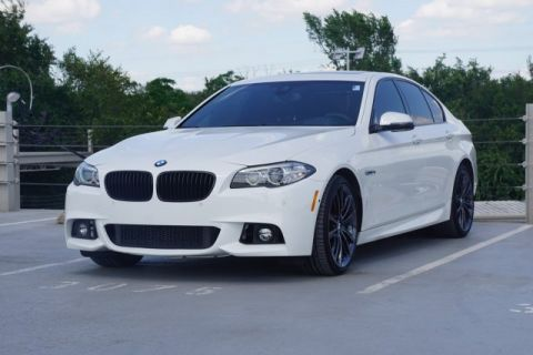 Pre-Owned 2014 BMW 5 Series 550i